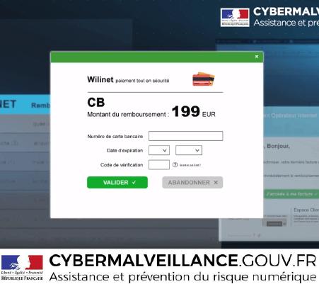 Aperçu de l'article dédié au phishing