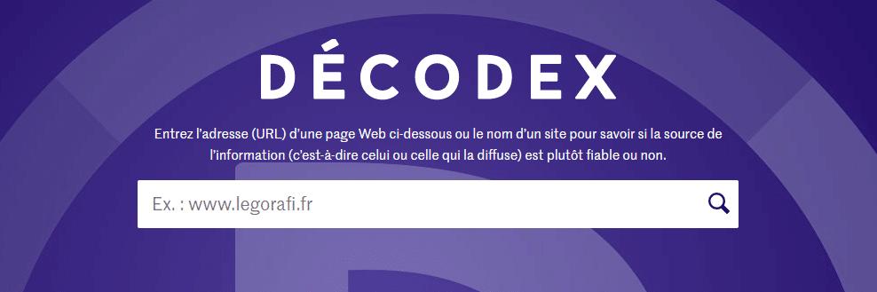 Décodex, outil dénicher Fake News, Le Monde